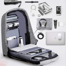 Load image into Gallery viewer, Anti Theft Laptop Backpack Bag