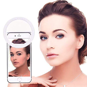 White Selfie Ring Light