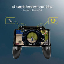 Load image into Gallery viewer, Metallic PUBG Trigger Mobile Gamepad Controller