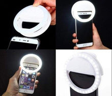 Load image into Gallery viewer, White Selfie Ring Light