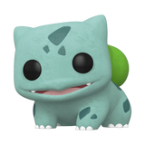 Games Pokemon Bulbasaur (Flocked) #453 [2020 Spring Convention Exclusive]