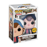 Animation Gravity Falls Dipper Pines #240 (Glow Chase)