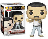 FUNKO POP Rocks: Queen - Freddie Mercury Radio Gaga 1985 #183