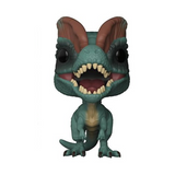 Movies Jurassic Park Dilophosaurus (Frill tucked down) (Chase) #550
