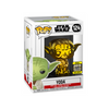 Star Wars Yoda (Gold Chrome) #124 [2019 Galactic Convention]