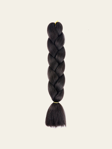 X-pression – Ultra Braid Synthetic Hair Extension - Col. #1B