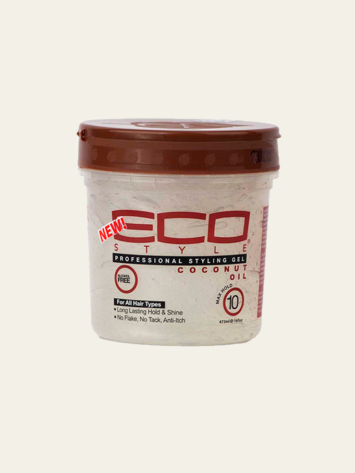 Eco Style Coconut Oil Styling Gel - 355 ml