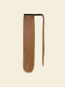"A for Afro – Lara 22"" Straight Synthetic Wrap On Ponytail"