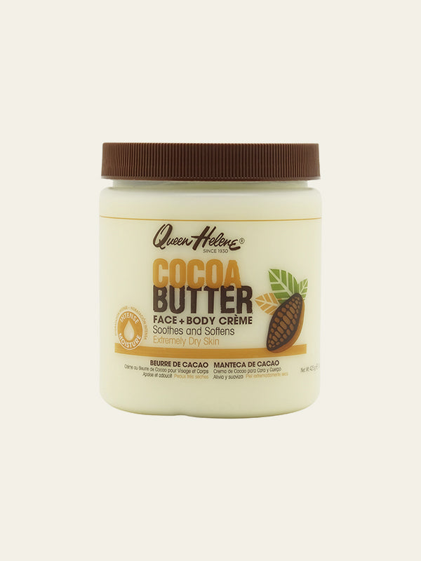 Natural Cocoa Butter Face + Body Creme (443ml)