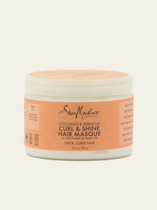 SheaMoisture – Coconut & Hibiscus Curl & Shine Hair Masque