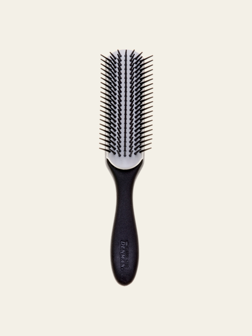 Hair Brush D3N Original Styler 7 Row - Black