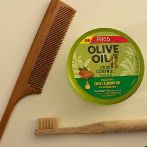 A for Afro – Short Eco-Friendly Bamboo Edge Brush
