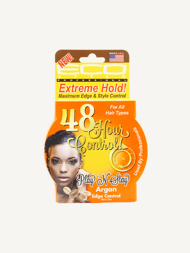 Eco Style – Play 'N Stay Argan Oil Edge and Style Control Gel