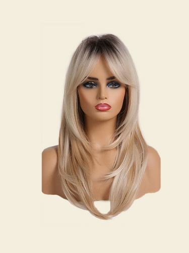 A for Afro – Kim Synthetic Ombré Wig with Bangs