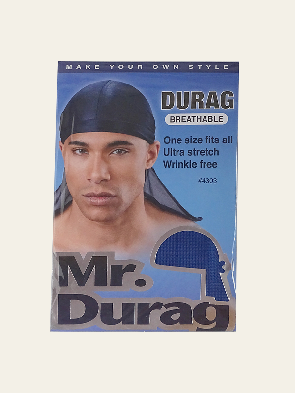 Mr. Durag – Breathable Durag Ultra Stretch i Blå