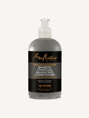 SheaMoisture – African Black Soap Bamboo Charcoal Balancing Conditioner
