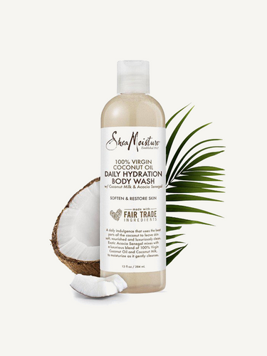 SheaMoisture – 100% Coconut Oil Daily Hydration Body Wash