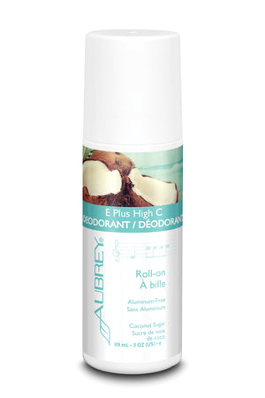 E Plus High C Deodorant - Coconut Sugar