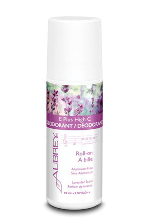 E Plus High C Deodorant - Lavender