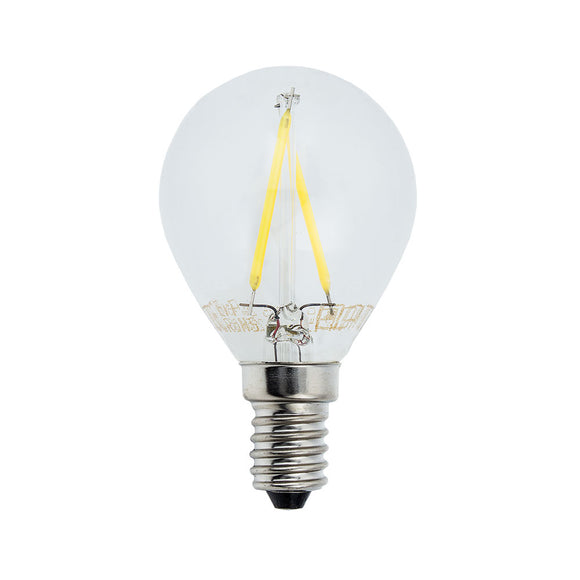 LED Filament Bulb G45 E14 2w Neutral white 4000K