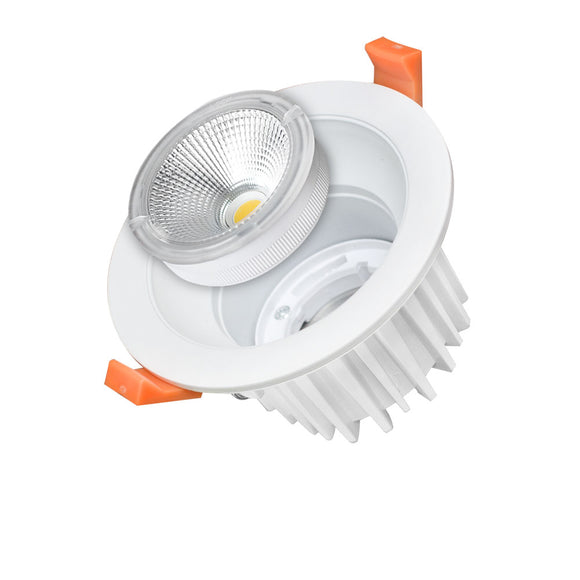 LED COB Downlight Round Exchangeable 25W White light 6000K