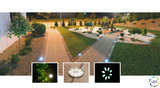 Ventus Decorative Mini Wall Lights 1.3W