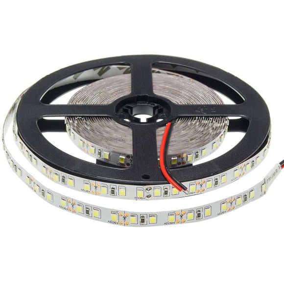 5 Meter LED Strip 2835 Non-Waterproof  9.6W/m White light 6000K