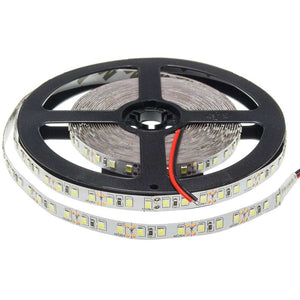 5 Meter LED Strip 2835 Non-Waterproof  9.6W/m Warm white 2700K