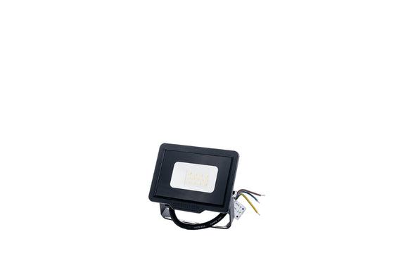 LED SMD Floodlight Black City Line 10W Warm white 2700K