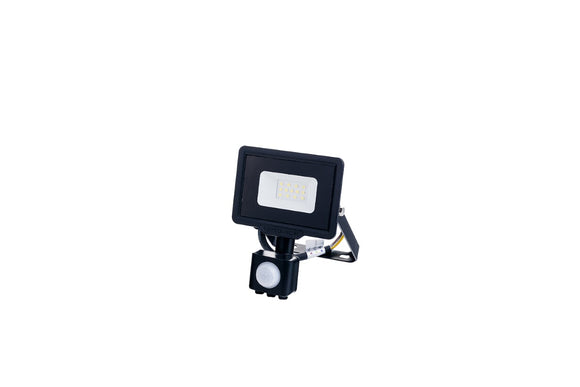 LED SMD Floodlight Black City Line With PIR Sensor 20W Neutral white 4000K