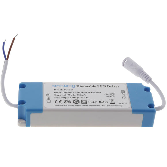 Dimmable Driver 220V 20-30*1W 300MA