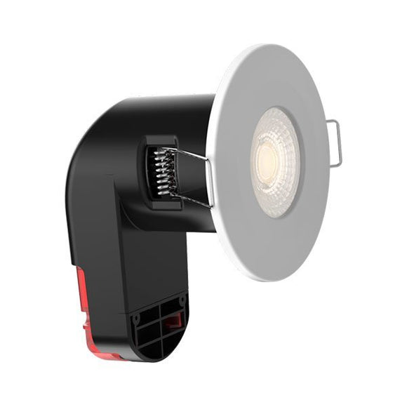 LED Fire Rated Fixture Interchangeable Bezel  6W Warm white 2700K