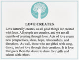 Love Creates Necklace