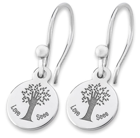 Love Sees® Logo Earrings