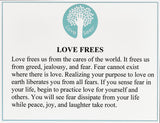 Love Frees Necklace