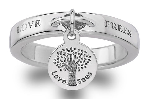Love Frees Ring