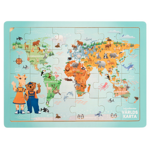 "PUZZLE ""WORLD MAP"""