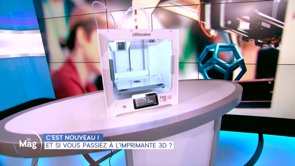 Cubeek3D sur C8 dans l'émission de William Leymergie !