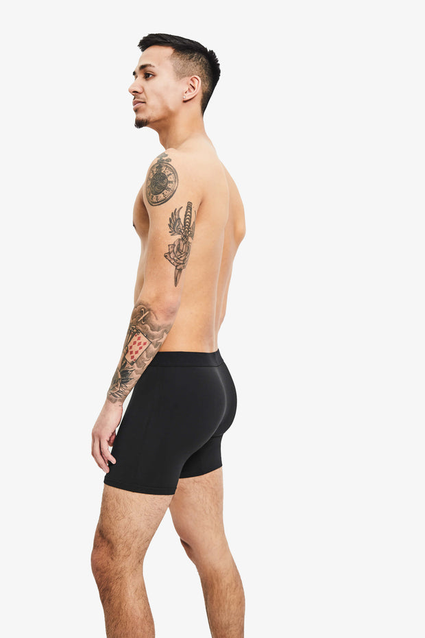 Nooks Boxer Briefs Midnight Black Side