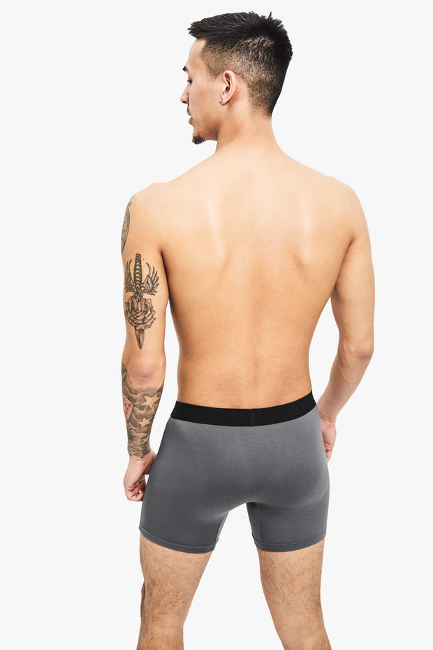 Nooks Boxer Briefs Space Gray Back