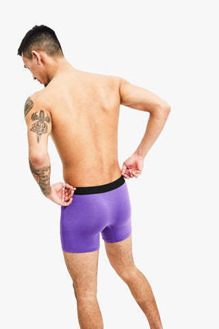 Nooks Boxer Briefs Multi Color Back Purple 8 Pack