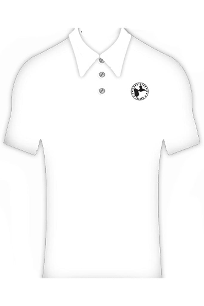 Polo Classique Guadeloupe Homme Blanc