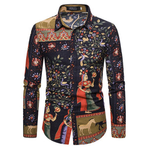 Men Shirt Camisa hombre