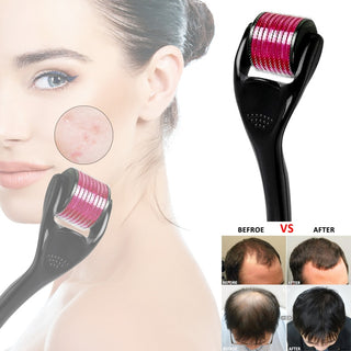 Micro-needle Hair Growth Roller Titanium Anti Hair Loss Treatment Thinning