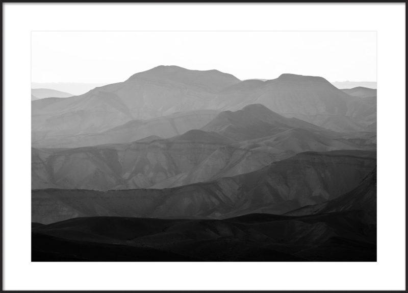 Mountains of the Judean Desert No. 3