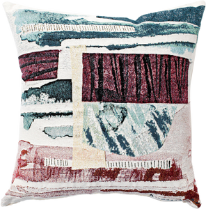 """Gees Bend"" Throw Pillow"