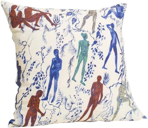 Silhouettes I Pillow