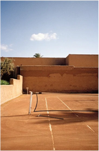 Load image into Gallery viewer, Marrakech Tennis Court Morocco' Film Print
