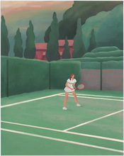 Load image into Gallery viewer, Hotel Il Pellicano Tennis Court' Print