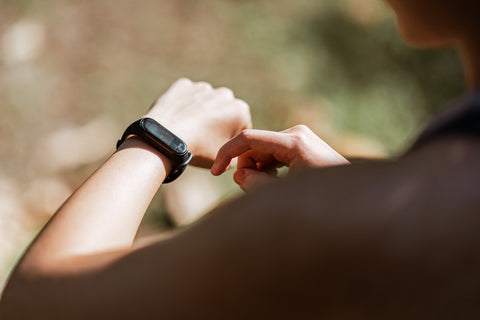 Try a fitness tracker to keep track of those steps and activity